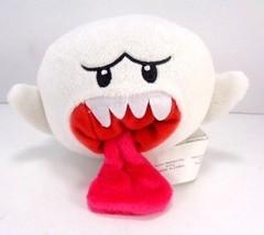 "Super Mario White Boo Ghost Plush Toy Stuffed Animal Plush 5"" Long US Seller - $10.88"