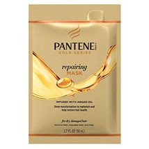 1Pc Pantene Gold Repairing Mask Deep Moisturizing Restore Damaged Dry Ha... - $4.94