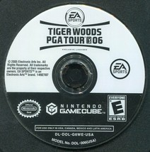 Tiger Woods PGA Tour 06 (Nintendo GameCube, 2005) Game Only! - $4.00