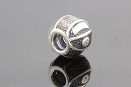 Womens Pandora Sterling Silver Barrel Charm 3.9g #31973 - $22.44
