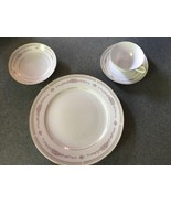ROYAL WENTWORTH ROSEMOUNT 8683 Complete Set, Fine China with Gold Trim - $129.95