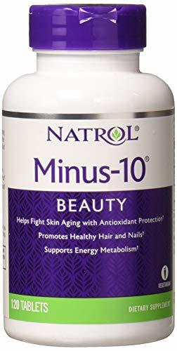 Natrol Minus-10 Cellular Rejuvenation Tablets, 120 Count