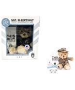Teddy Bear ZZZ Bears Sgt. Sleeptight in Authentic Marine Desert MARPAT U... - $32.66