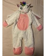 Hyde And Eek Unicorn Pegasus Halloween Costume Hooded Long Sleeve 0-6 M ... - $8.90