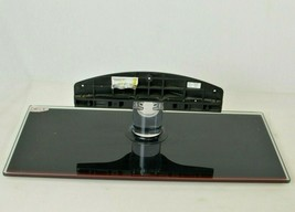 """Glass Samsung 46"""" TV Stand Base Model BN61-05244A #9 w Red Accent  - $80.74"""