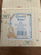 Cherished Teddies - Faith (916412) - There's No Bunny Like You - Original Box - $24.63