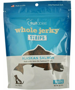 Whole Jerky for Dogs Alaskan Salmon Natural premium cut meat 5 oz - $29.55