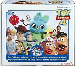 Mr Potato Head Disney/Pixar Toy Story 4 Andy'S Playroom Potato Pack Toy For Kids image 2