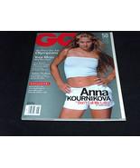 GQ Magazine August 2000 Tennis Player Anna Kournikova Cover Don't Call M... - $13.64