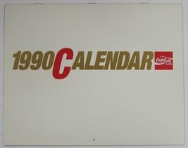 Coca-Cola 1990 Calendar - New Free Shipping - $10.15