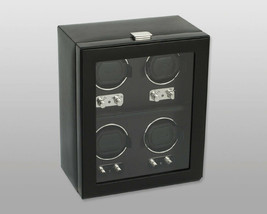 WOLF Heritage 4 Piece Quad Watch Winder with Cover 270602 Free US Shipping - $975.00