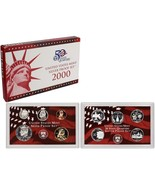 2000-S 90% Silver Proof Set United States Mint Original Government Packa... - $56.51 CAD
