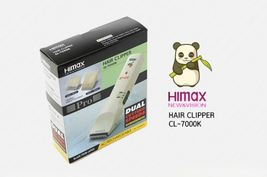 HIMAX CL-7000K Professional Hair Clipper Trimmer Rechargeable Blade from Japan image 3