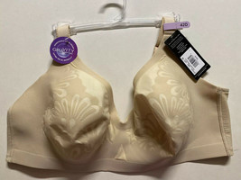 Bali Beauty Lift™ SMOOTHING Wirefree T-shirt Bra, #DF6564, beige, Size 4... - $13.94