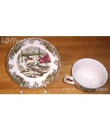 English staffordshire johnson brothers cup and saucer 3845d thumbtall
