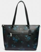 Neu Coach 88877 Gallerie Tote Viktorianisch Blumenmuster Handtasche Blau... - $149.24