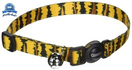 "Adjustable Fashion Safe Cat Breakaway Collar with bells Pet Products 8"" ... - $8.93"