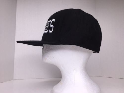 Lids Witches Custom Embroidered Baseball Fitted Hat Cap Black White Size 7