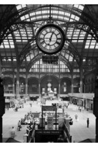 New York Penn Station; 1910 Construction; Custom Printed Photo Poster - $26.72+