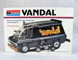 MONOGRAM VANDAL CUSTOM-STYLE VAN CAR MODEL KIT NEW! - $79.19