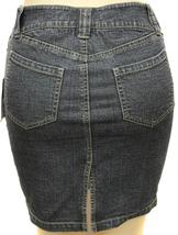 Dkny Jeans Juniors Premium Fashion Stretch Denim Skirt With Rhinestones image 3