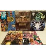2000 A D GRAPHIC NOVELS - 9 BOOKS - MEAN TEAM, X-MAS, RAPTAUR - FREE SHI... - $112.20