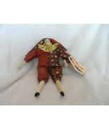 """Vintage 1997 Sugar Loaf jester clown 8"""" beanie Friend - $10.50"""