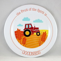"""Goodness"" Kids Plate Brand NEW The Fruit Of The Spirit BPA-Free & Non-B... - $12.66"
