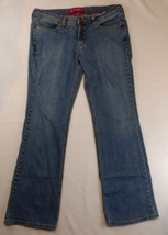 GLO Stretch Light to Medium Blue Mid Rise Denim Jeans 13 Juniors        ... - $9.89