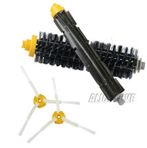 1 Bristle brush +1 Flexible Beater Brush +2 Side Brush for iRobot Roomba... - $265,03 MXN