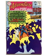 ADVENTURE COMICS #367 comic book 1968-NEW HEADQUARTERS-SUPERBOY-LEGION - $47.92