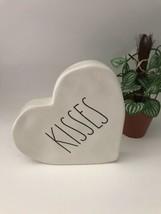 Rae Dunn Kisses White Heart Figure Paperweight - $25.99