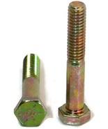 Hex Cap Screw Grade 8 Hex Bolt Yellow Zinc - 5/16''-18 x 1-1/2'' PT - Pa... - $70.44