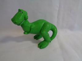 Disney Pixar Toy Story Figure Green Dinosaur Rex PVC Figure or Cake Topp... - $2.48
