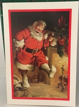 Vintage Hallmark Christmas Cards Santa by Artist Sundblom 16 of 25 and E... - $19.99