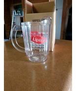 NIB CAMBRO LIPTON PLASTIC TEA PITCHER MADE IN USA HUNTINGTON BEACH CALIF... - $14.00