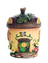 Miniature Fairy Garden of Enchantment Fairy Acorn Cottage Figurine Displ... - $26.99