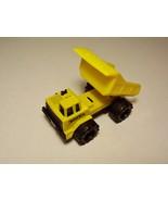 Tonka Dump Truck Yellow Diecast Plastic McDonalds 1992 Loose - $4.99
