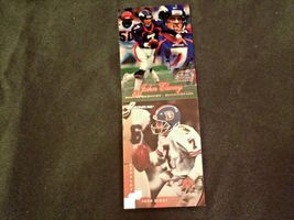 John Elway #7 Denver Broncos and Dan Reeves Trading Cards AA-19FTC3005a Vintage image 5