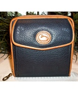 Dooney Bourke AWL All Weather Leather Zip Along Wallet Crossbody Vintage... - $59.00