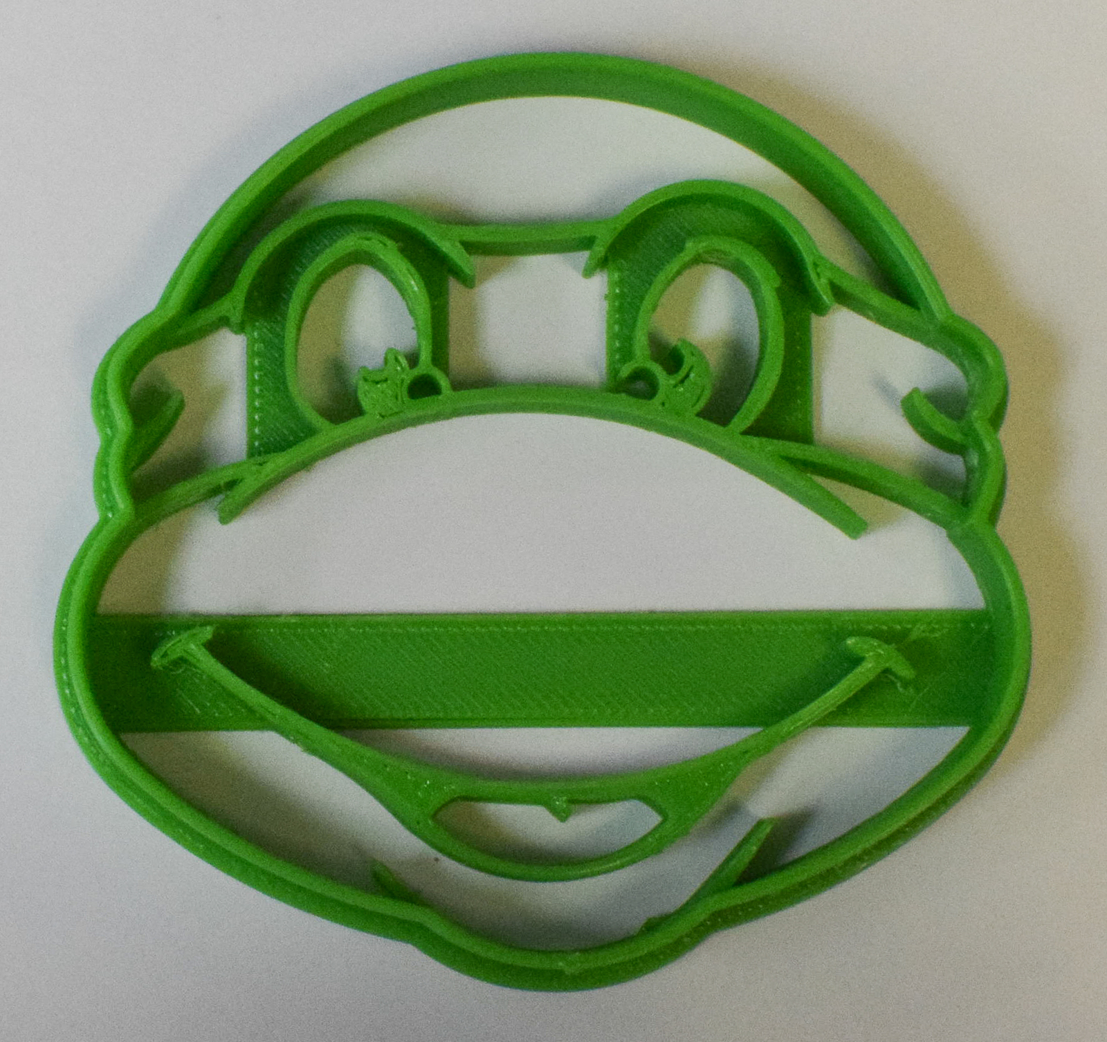 Primary image for TMNT Teenage Mutant Ninja Turtle Characters Cookie Cutter 3D Printed USA PR484