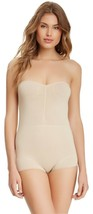 Skweez Couture Strapless Shaping Bodysuit Shapewear By Jill Zarin - $20.52