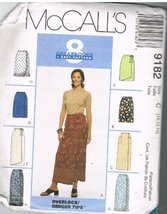 McCall's 9182 Skirts - $9.78