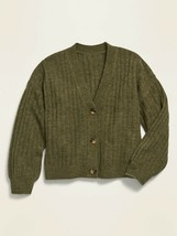 NWT Old Navy Cropped Button-Front V-Neck Cardigan (Size XL [14-16] Plus,... - $16.82