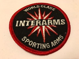 "World Class INTERARMS Sporting Arms Embroidered Patch 3"" - $9.85"
