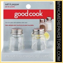 FREE S&H—GOOD COOK—BRADSHAW INTERNATIONAL—OCTAGONAL—GLASS—SALT&PEPPER SH... - €6,73 EUR