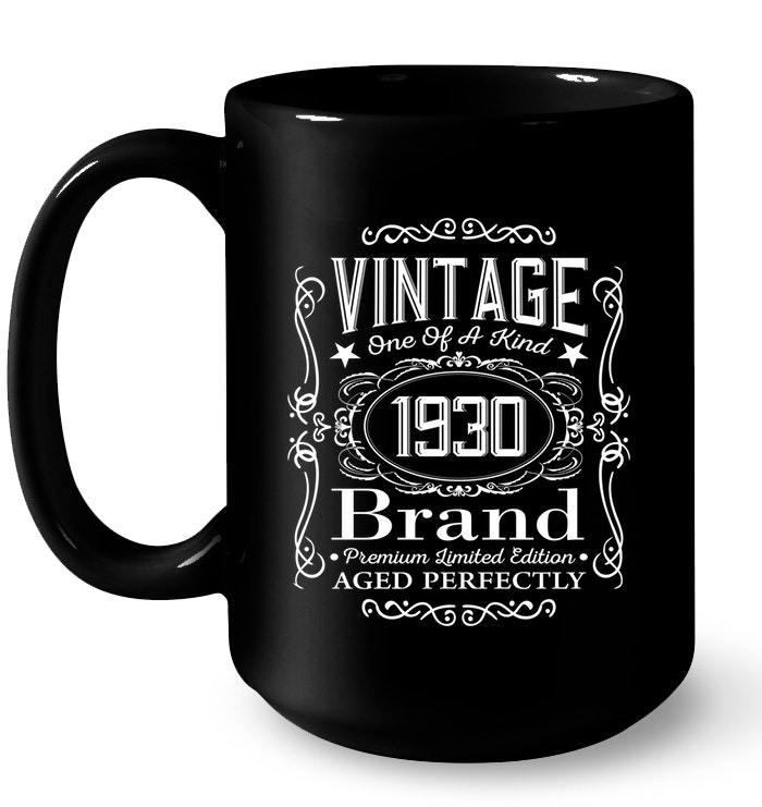 88th Birthday Gifts For Women And Men Limited Edition 1930 Gift Coffee Mug