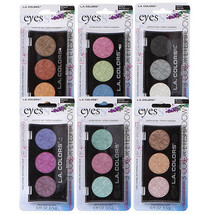L.A. Colors Professional Series 3-Color Eyeshadow Palettes Eyes The - $8.97