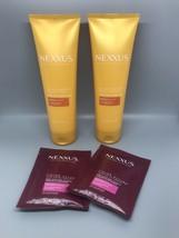 2X Nexxus Scalp Inergy Hair Ultra Light Conditioner 8.5oz & 2 Protein Ma... - $18.48
