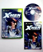 X-Men Legends (Microsoft Xbox, 2004) Complete with Manual - Marvel Super Heroes - $9.45